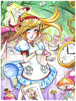 Alice in Wonderland by Lemia