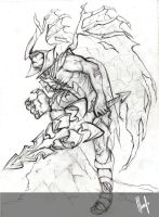 practice challenge League of Legends : Aatrox by TsukimayAlessandra