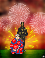 TFA - Prowl X Ratchet YUKATA by ForeverSonu