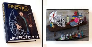 The Dresden Files hideaway book box by RFabiano