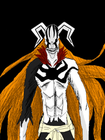 Ichigo Vasto Lorde hollow form by ShadowClawZ