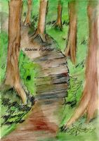 #8 Stairway of the Grove by Soarim-Flynnzel