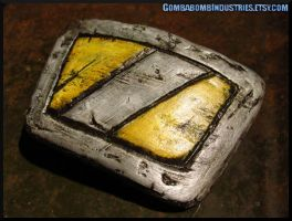 Borderlands 2 - Krieg's Belt Buckle by CopperCentipede