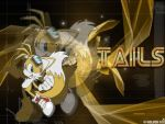 Tails Wallpaper gift by DrewKitsune