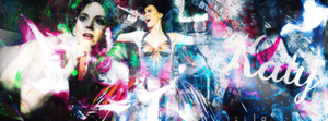 Katy perry cover - psd header by SilaEOfficial