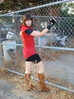 my Claire Redfield cosplay by evil-hikari66