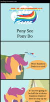 Rainbow Tales: Pony See Pony Do by Narflarg