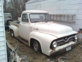 1955 Ford F100 II by Outlaw2233