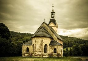 Rural church by Sudlice