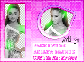 Pack png de Ariana Grande by WorldLight