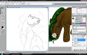 Elemental MLP WIP by SparklersOasis