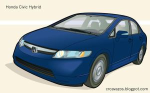 Honda Civic Hybrid by CRCavazos