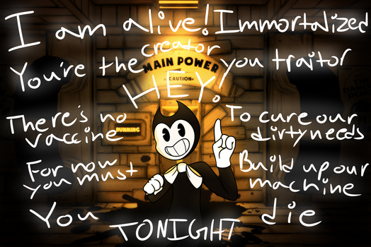 Bendy and The Ink Machine by LoveMe2346