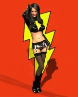 Mary Marvel 1 by Chup-at-Cabra