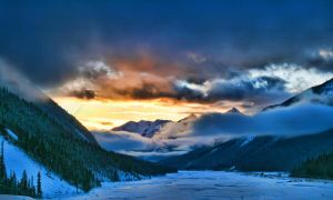 Sunset in Winter by Joe-Lynn-Design