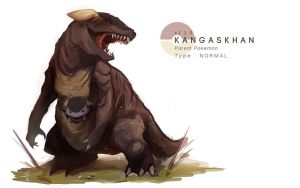 Kangaskhan by MrRedButcher
