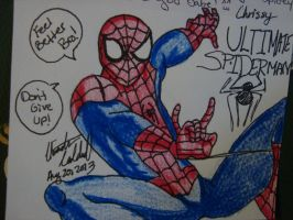 Ultimate Spiderman by spidyphan2