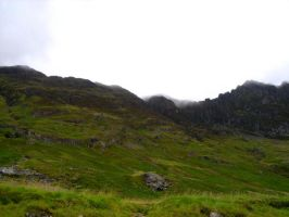 Stock 205: Scottish mountains by AlzirrSwanheartStock