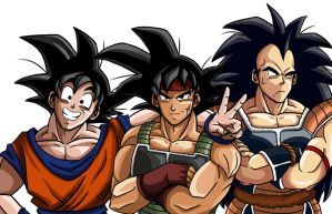 Saiyan Family by ArachRoy