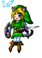 Chibi Link by Feather-Storm