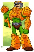 Man-At-Arms by jerzydrozd