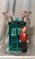 The 11th Doctor Cake by katiesparrow1