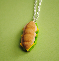 Turkey Sub Necklace by ClayRunway