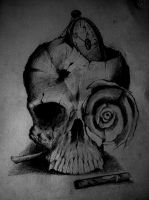 Death And Roses by Giurio
