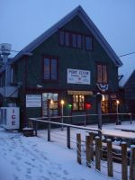Port Clyde General Store on Candlemas Morning by mirengraphics