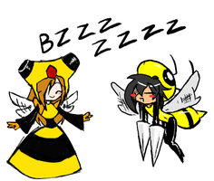 BEES by GoldKnightPK