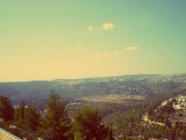 jerusalem view by The-M-Flash