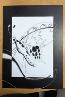 Scratch Art and Pen and Ink Art Project by Purple-Street-Dog