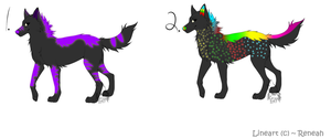 Wolf Adoptables BATCH 7 - ONE LEFT by Krissi2197
