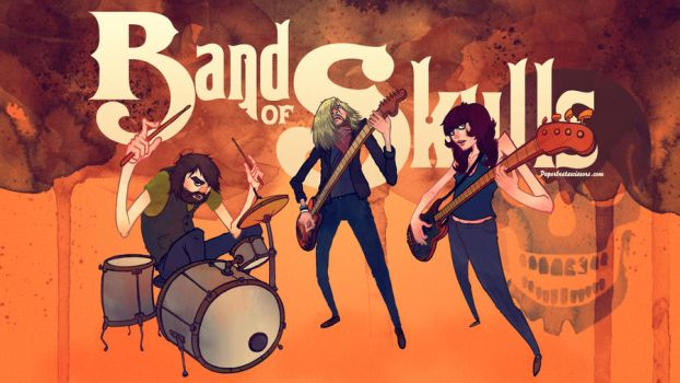 Band of Skulls by paperbeatsscissors