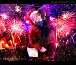 SasuSaku: Happy new year 2014 by Lesya7