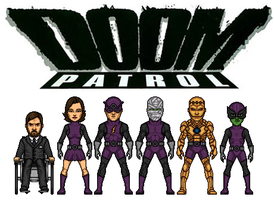 Doom Patrol by dudebrah