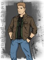 Dean Winchester by redfield37
