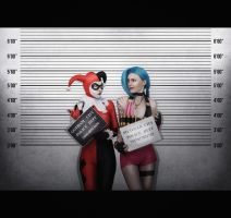 Harley Quinn and Jinx by chapayka