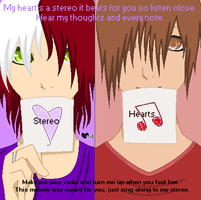 :: Stereo Hearts :: by maris4