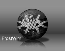 Frostwire icon Black PNG by x986123