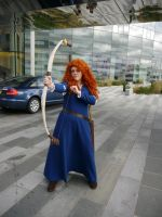 Brave Merida MCM Oct '12 by KaniKaniza