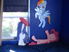 Ponies!  For your Room! by Minatek616