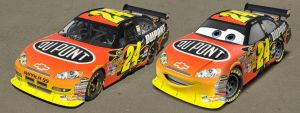 Cars | Pixarizing Jeff Gordon by danyboz