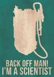 Back Off Man - Ghostbusters by mattranzetta