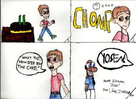 B-Day Comic For LaptopGeek by Urvy1A
