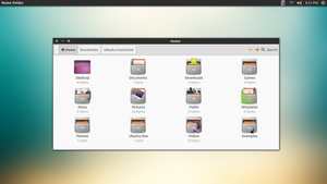 Ubuntu Numix by UltimateDesktops