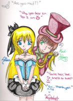 Alice And the MadHatter by xxpunkgrlxx