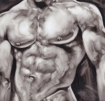 Male Chest by drawfellas
