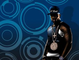 50 Cent Wallpaper by AutoClipz