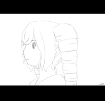 Lightning Sketch (OC Gif) by LilachSigal